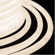 Гибкий Неон LED 360 - тепло-белый, бухта 50м
