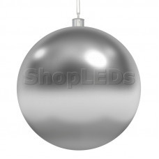 Елочная фигура «Шар»  10 см, цвет серебряный NEON-NIGHT