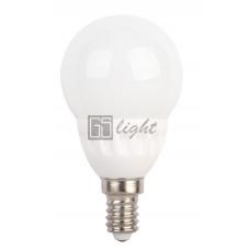 Светодиодный шар G50 E14 4.5W 220V Warm White